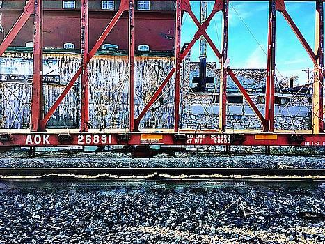Framework on Railroad Avenue by Lenore Senior