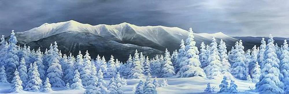 Franconia Ridge Glory by Varvara Harmon