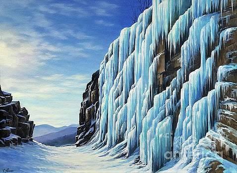 Frankenstein Icy Cliffs by Varvara Harmon