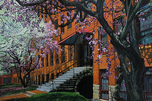 Franklin Square in Bloom by Maria Rizzo