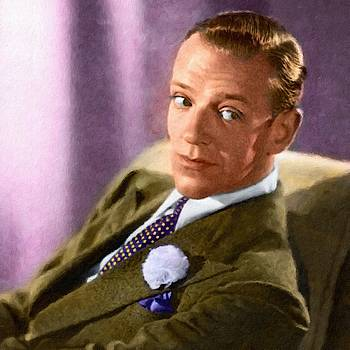 Fred Astaire, portrait by Vincent Monozlay
