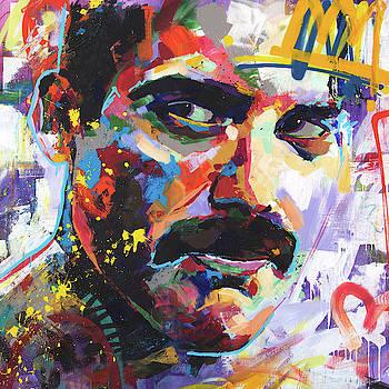 Freddie Mercury by Richard Day