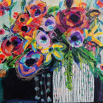 Free Blooms by Mary Conner