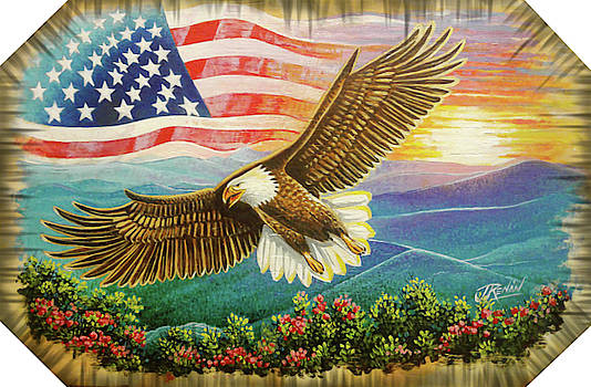 Freedom Eagle by Jose Renan Herrera