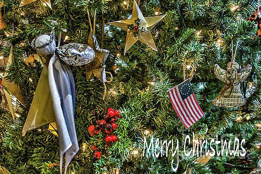 Sandy Moulder - Freedom of Faith Tree Christmas Card