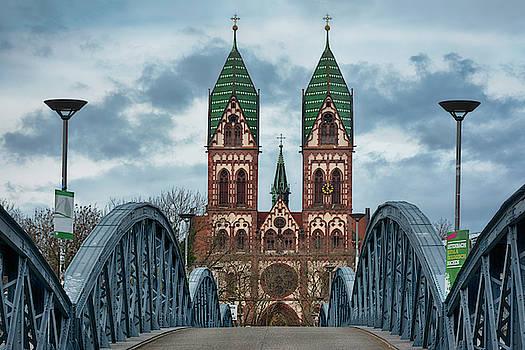 Freiburg Wiwili-Bridge by Joachim G Pinkawa