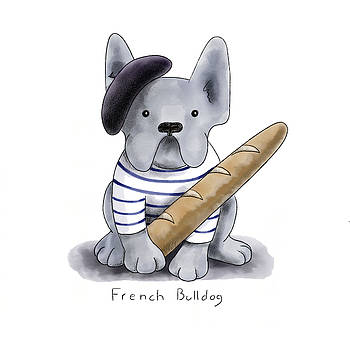 French Bulldog by Christy Beckwith