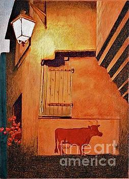 French Cow by Glenda Zuckerman