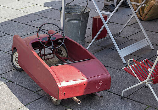 French Pedal Car by Teresa Mucha