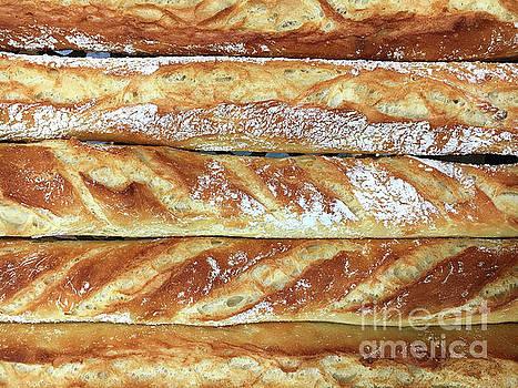 Fresh french sticks by Tom Gowanlock