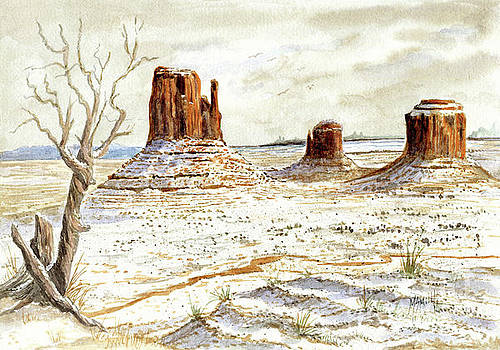 Marilyn Smith - Fresh Snow In Monument Valley