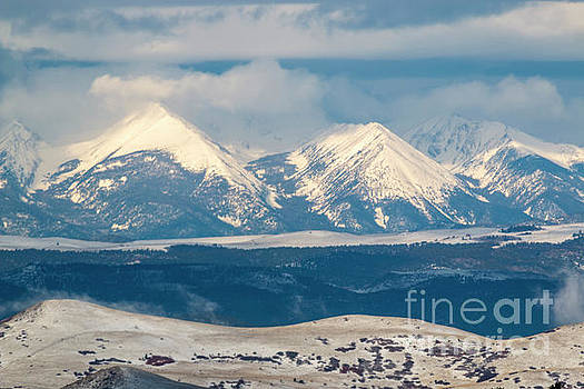 Steve Krull - Fresh Spring Snow on the Sangre de Cristo