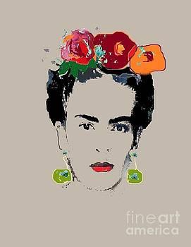 Frida Kahlo by Vesna Antic