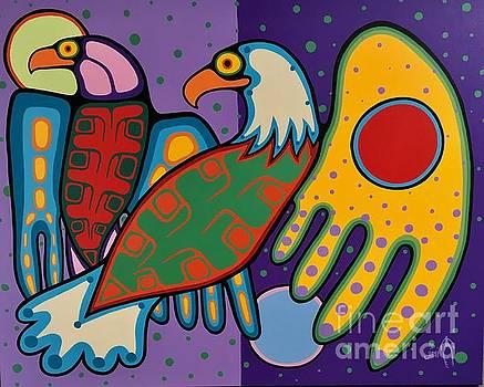 Friends by Jim Oskineegish