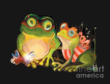 Frogs Overlay  by Donna Hall