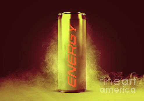 Frosted Energy Drink Can by Allan Swart
