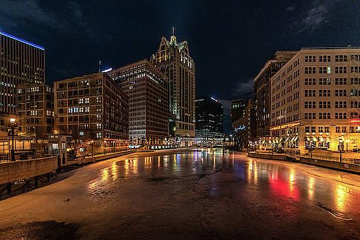 Frozen City by Randy Scherkenbach
