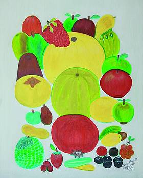Fruits by Lorna Maza