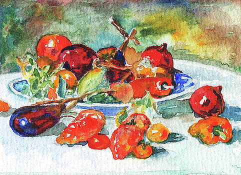 Irina Sztukowski - Fruits Of Midi Renoir Still Life Study