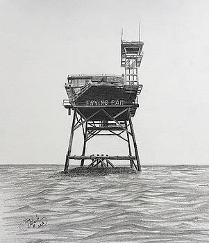 Frying Pan Tower  by Tony Clark
