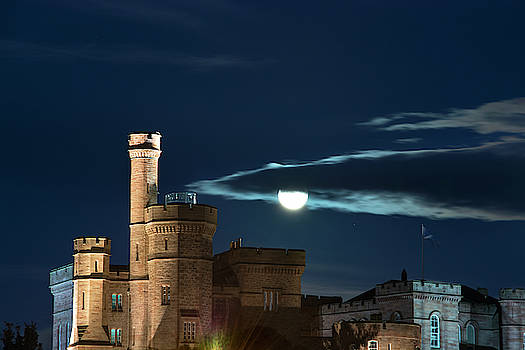 Veli Bariskan - Full Moon over Inverness Castle