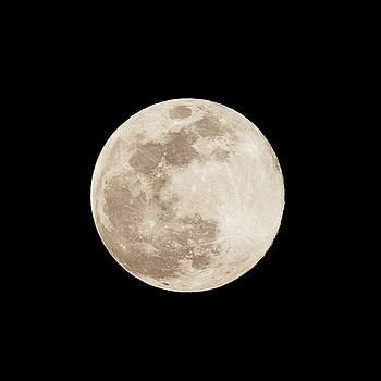 Full Moon Over Minoa by David Stasiak