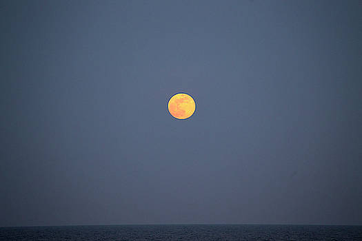 Full Moon Rising 11 by David Stasiak