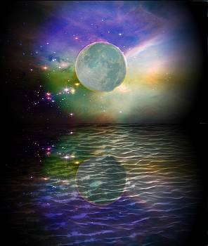 Full Moon by Yvonne Sewell