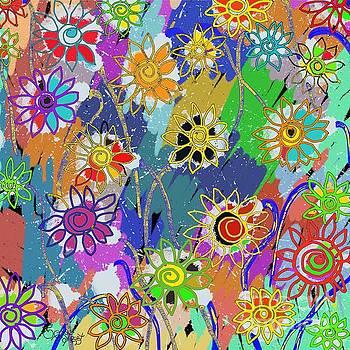 Caroline Street - Funky Flowers