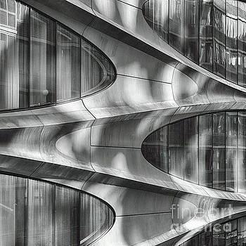 Futuristic Building Facade by George Oze
