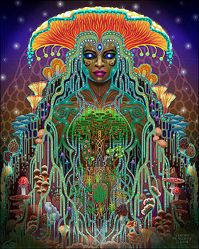 Gaia Myceliana by Cristina McAllister