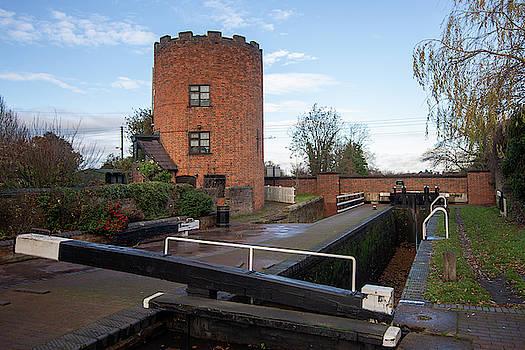 Gailey Lock landscape by Steev Stamford