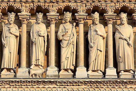 Galerie Des Rois Cathedrale Notre Dame De Paris by Catherine Leblanc
