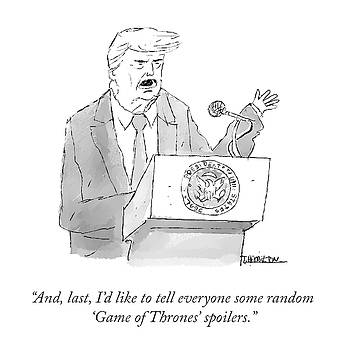 Game of Thrones Spoilers by Tim Hamilton