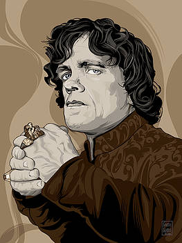 GAME-OF-THRONES tyrion lannister  by Garth Glazier
