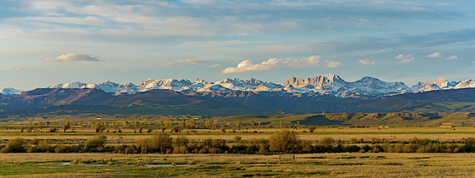Julieta Belmont - Gannett Peak, Wind River Range, Wyoming Sunset june 10