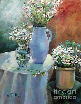 Garden Daisies by Wendy Ray