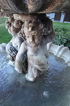 Garden Fountain by Bruce IORIO