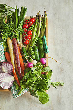 Garden fresh vegetables by Cuisine at Home