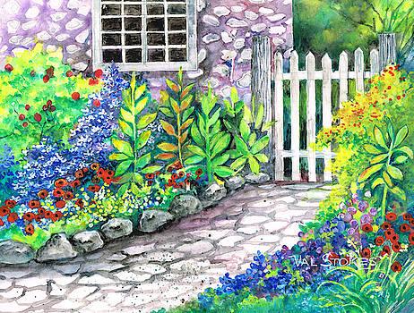 Garden Gate by Val Stokes