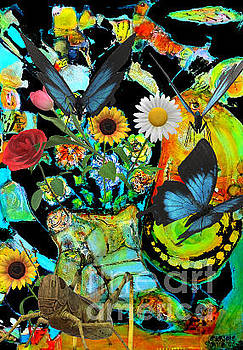 Garden Party by Claire Sallenger Martin