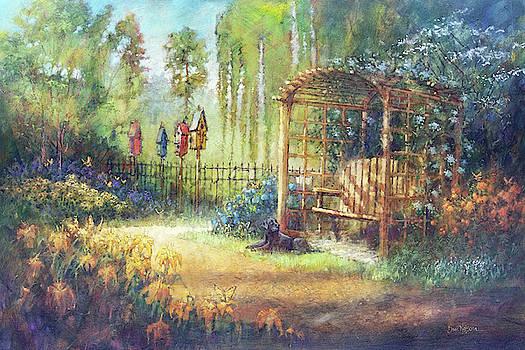 Garden Swing by Dan Nelson