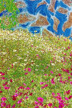 Garden Wall by Katherine Erickson