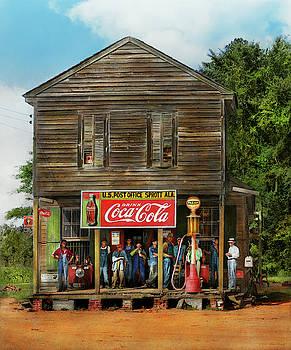 Mike Savad - Gas Station - Sprott AL - Crossroads store 1935