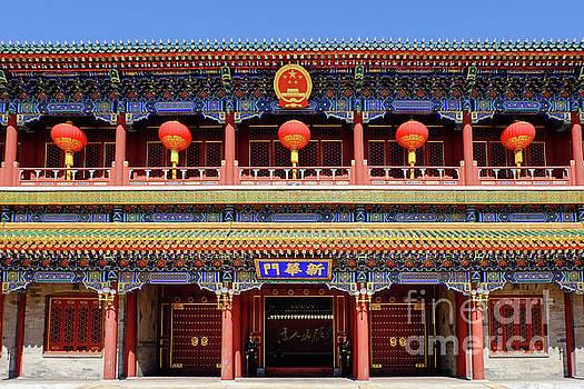Gate of New China by Iryna Liveoak