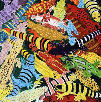 Geckos by Charla Van Vlack