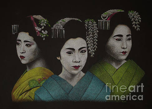 Geisha Girls by Lisa Bliss Rush