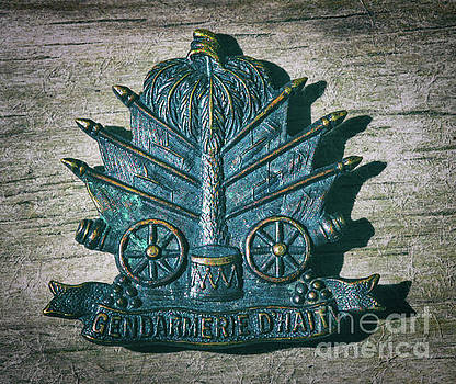 Gendarmerie D'Haiti Coat of Arms by Dale Powell