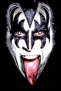 Gene Simmons by Fred Larucci