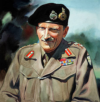 General Sir Bernard Montgomery by Unknown Artist